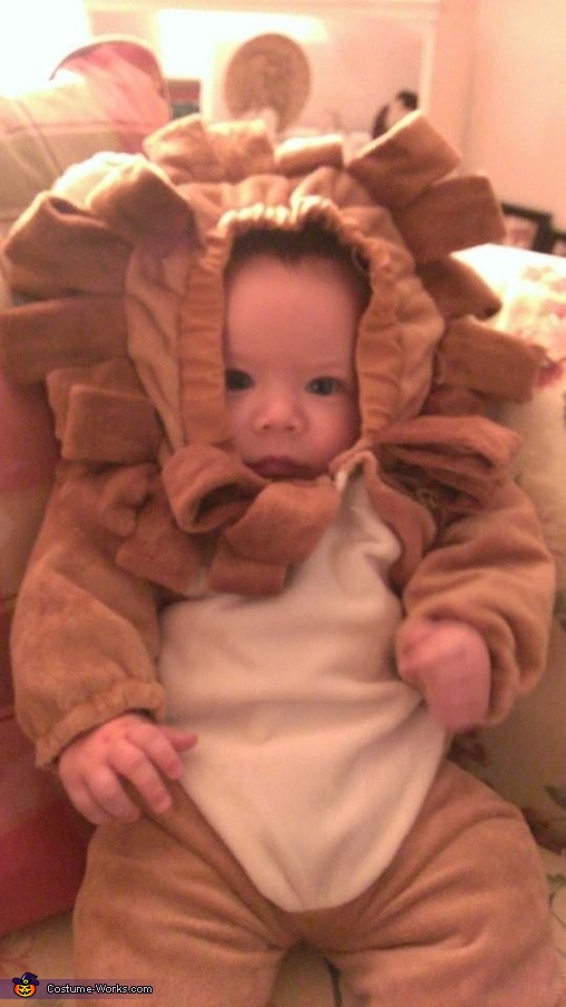 Mom's strong lil lion, Little Lion Baby Costume