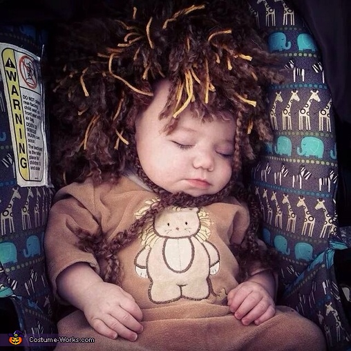 The lion sleeps tonight, Little Lion Baby Costume