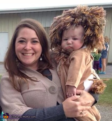 Little lion and mommy, Little Lion Baby Costume