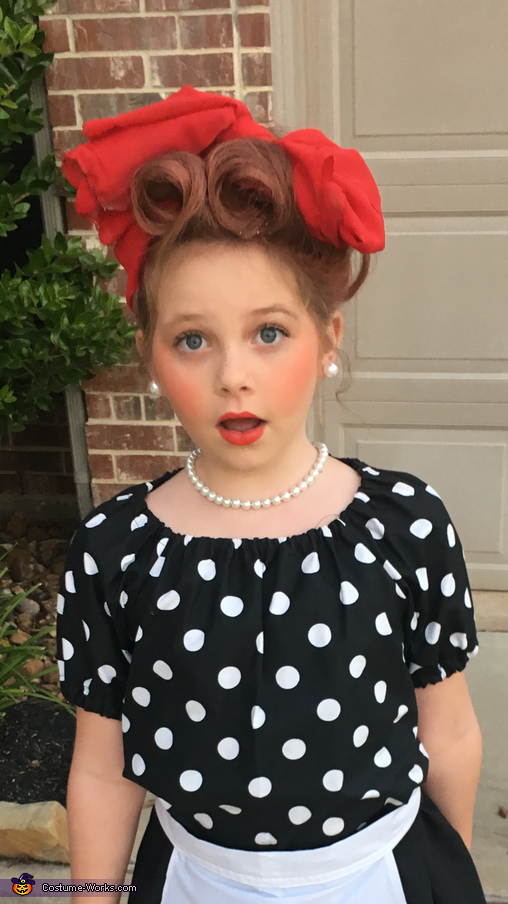 I Love Lucy Girl's Halloween Costume