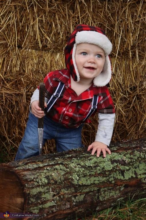 Little Lumber Jack Homemade Costume