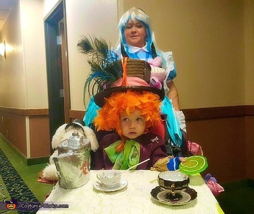 Front, Little Mad Hatter Costume