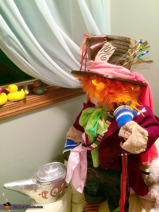 Close up, Little Mad Hatter Costume