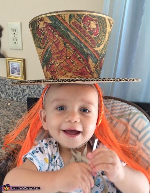Start of Hat, Little Mad Hatter Costume