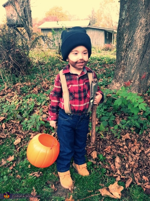 Little Man Lumberjack Costume