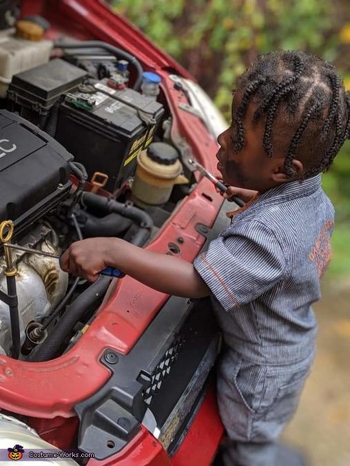 Little Mechanic Costume
