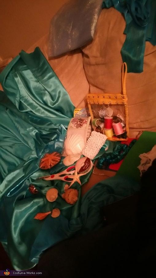 things i use to make custom, Little Mermaid Costume