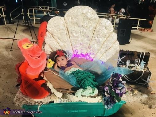 Little Mermaid Homemade Costume