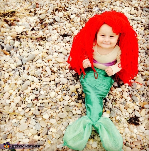Little Mermaid Baby Costume