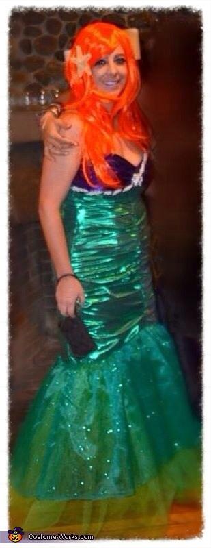 Little Mermaid Ariel Homemade Costume