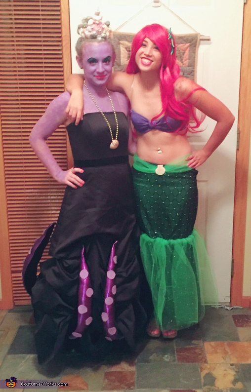 Little Mermaid Ariel and Ursula Costume