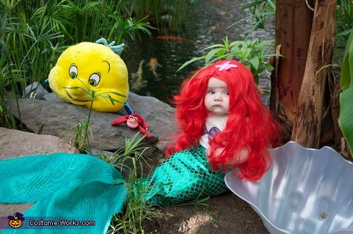 Little Mermaid and Friends, Little Mermaid Baby Costume