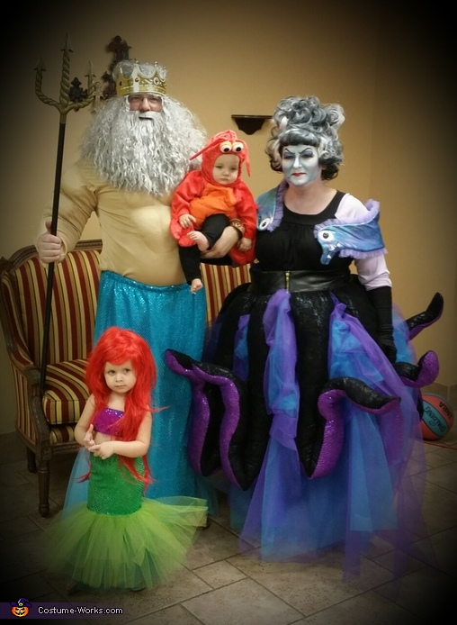 Little Mermaid Family Costumes