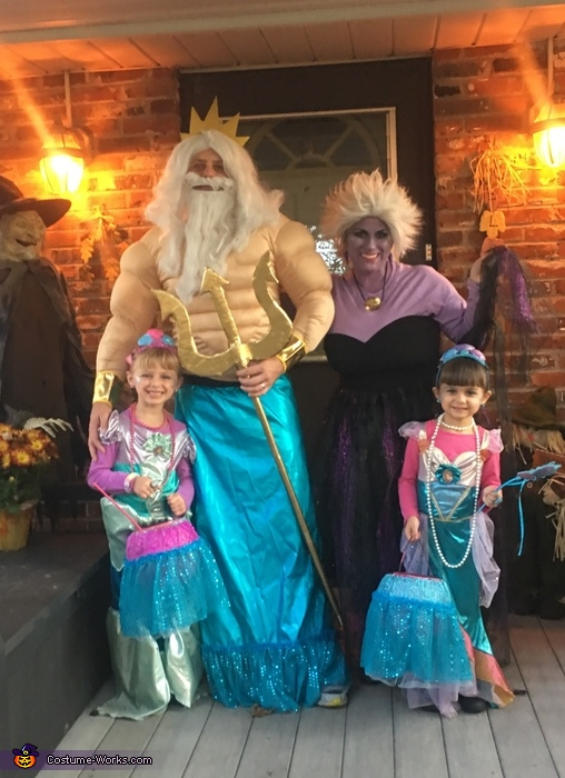 Little Mermaid Theme Costume