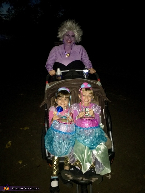 Little Mermaid Theme Homemade Costume