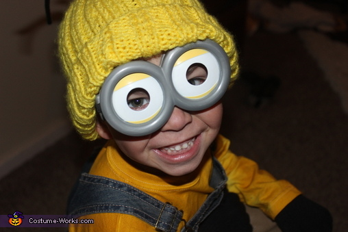 A happy minion, Little Minion Costume