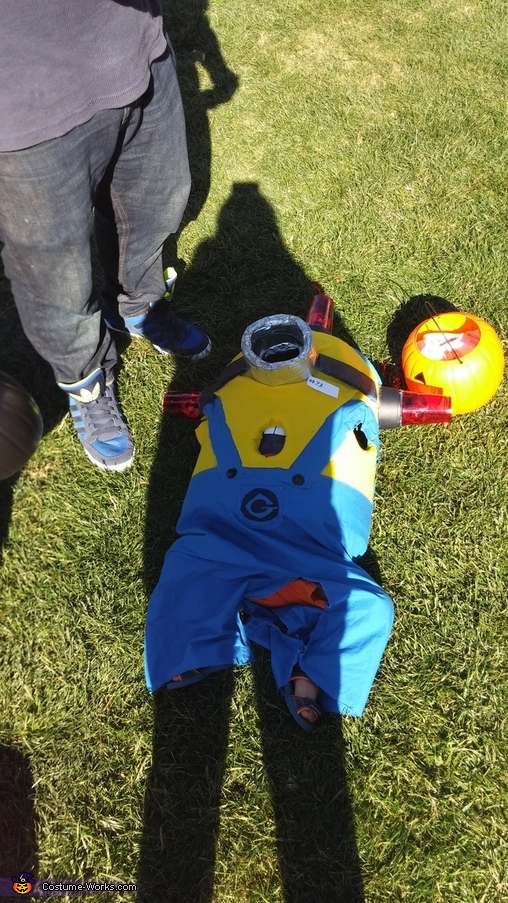 minion down, Little Minions Costume