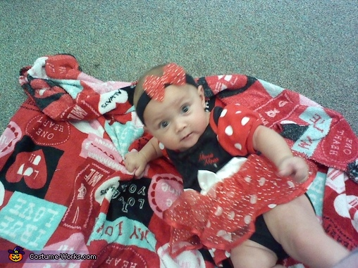 Little Minnie Mouse Costume