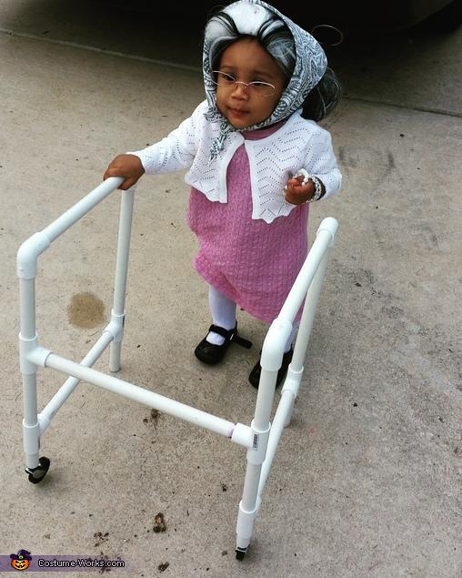 Little Miss Granny Costume