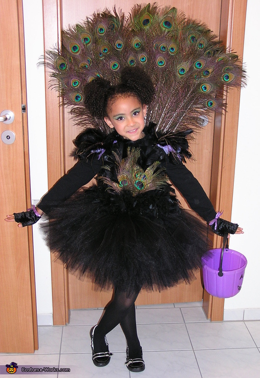 Little Miss Peacock Costume