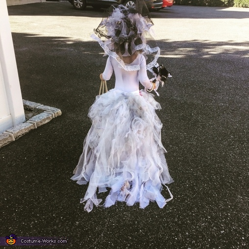 Little Miss Zombie Bride Homemade Costume