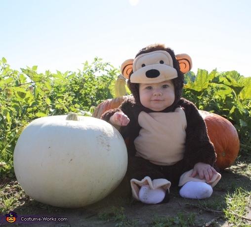 Little Monkey Baby Costume