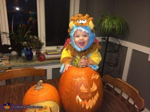 Little Monster Baby Halloween Costume