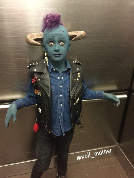Maurice from Little Monsters Costume