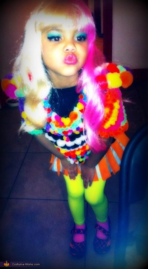 Keyana , Little Nicki Minaj Costume