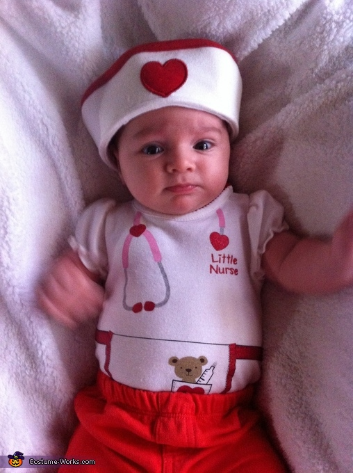 Little Nurse Baby Costume