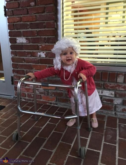 Little 'Ol Granny Costume