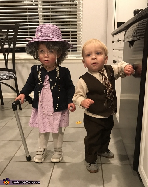 Little Old Couple Costume