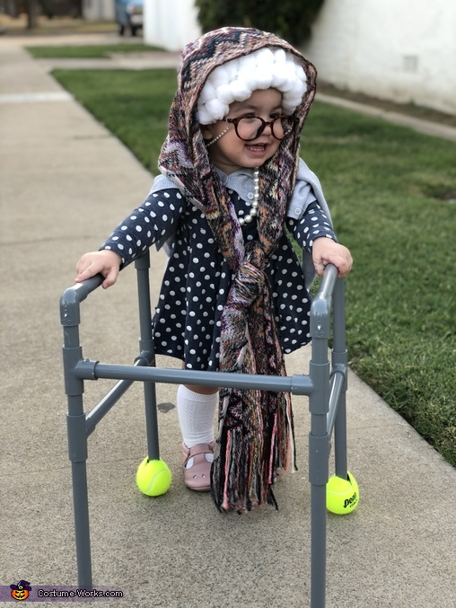 Little Old Happy Grandma Costume