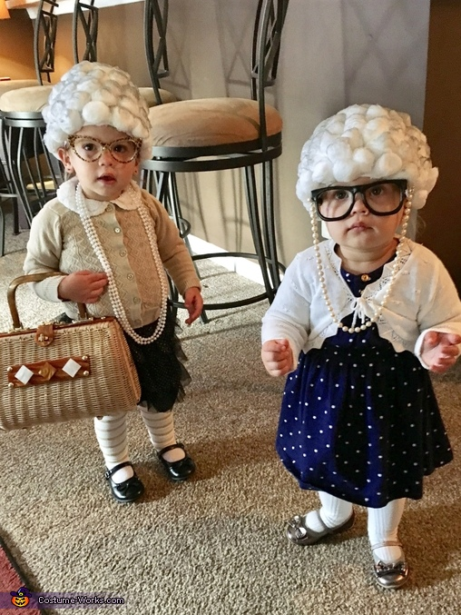Little Old Ladies Homemade Costume