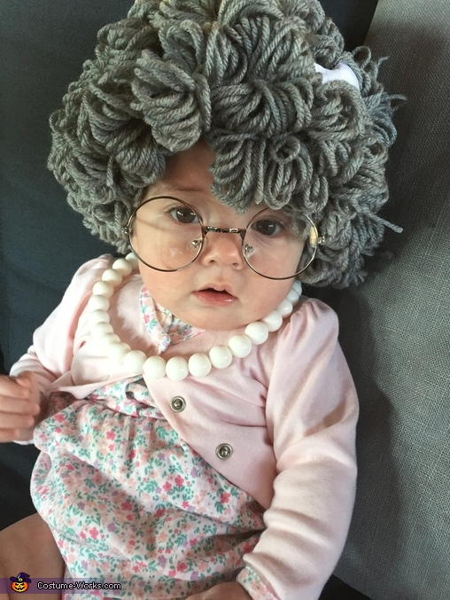 Old lady stare down., Little Old Lady Costume