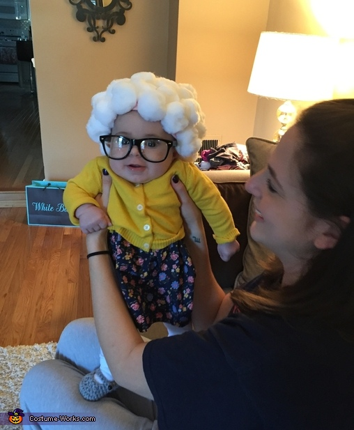 Standing, Little Old Lady Costume