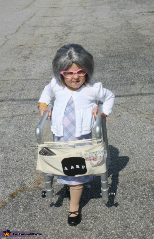 Little Old Lady Baby Costume