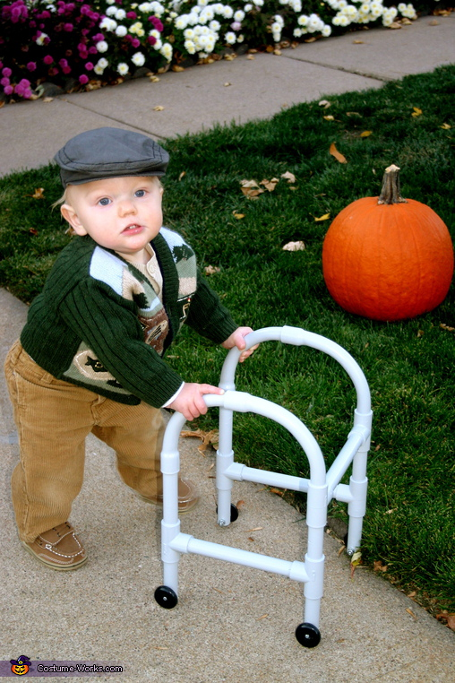 Little Old Man - Homemade costumes for babies