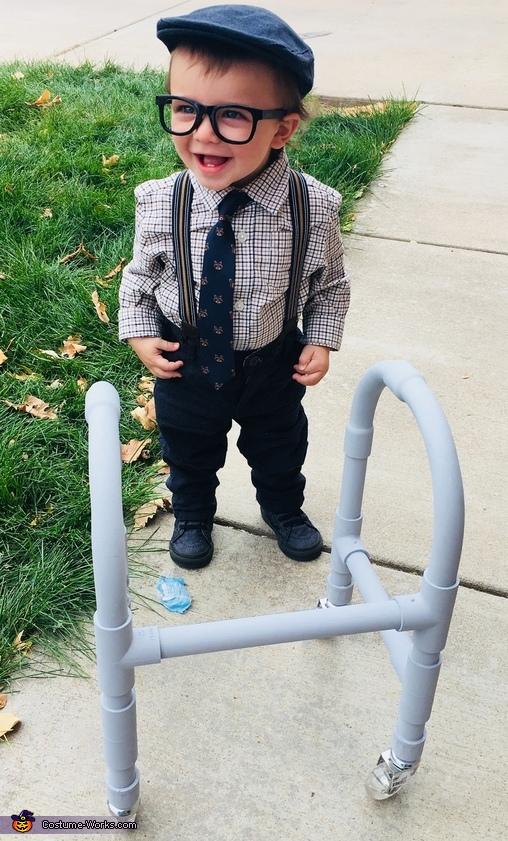 Little Old Man Homemade Costume
