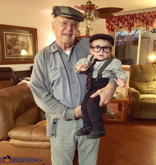 Little Old Man Homemade Costume