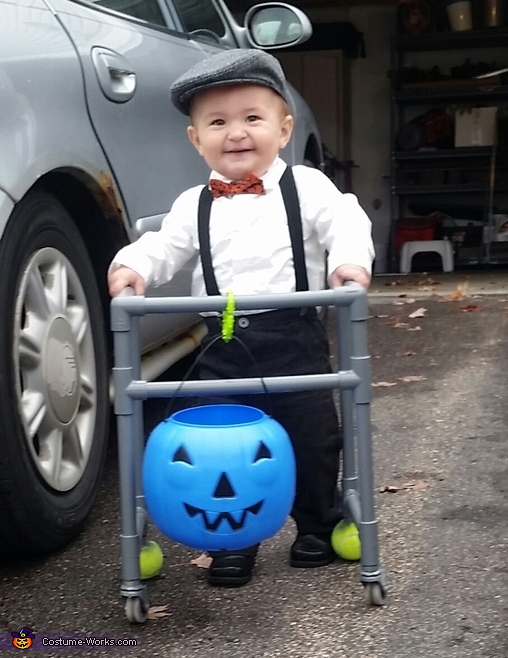 DIY Little Old Man Costume