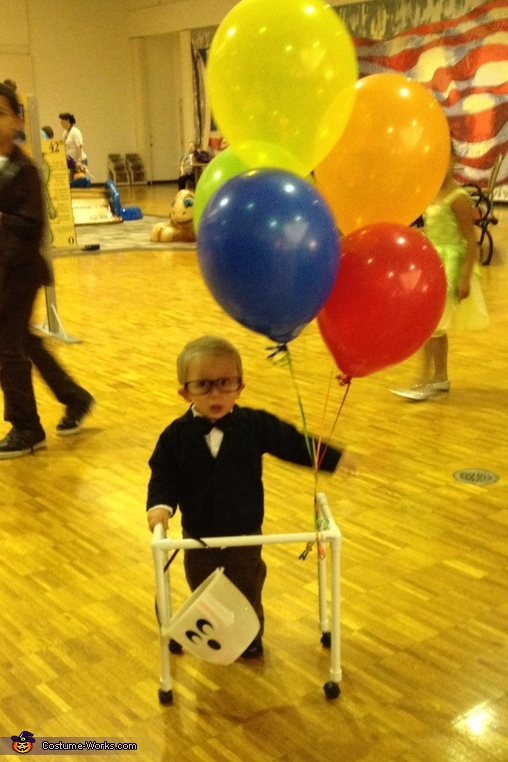 Little Old Man on UP Costume