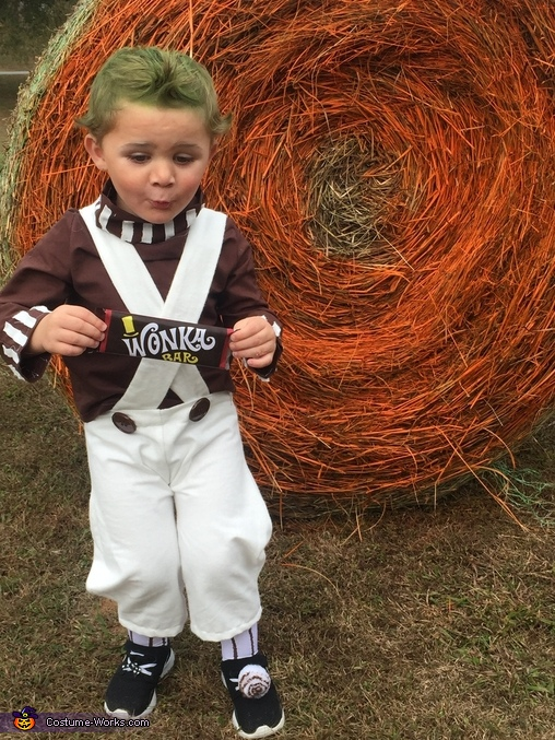 Little Oompa Loompa Costume DIY