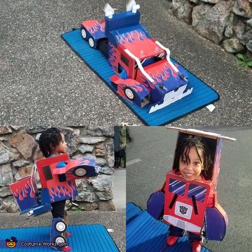 Little Optimus Prime Costume
