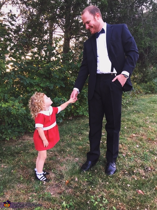 Annie & Daddy Warbucks, Little Orphan Annie Costume