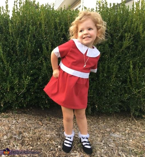 Sassy little Annie, Little Orphan Annie Costume