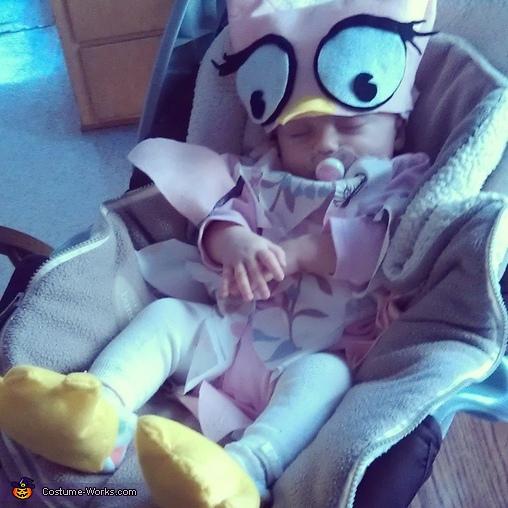 Little Owl Homemade Baby Costume