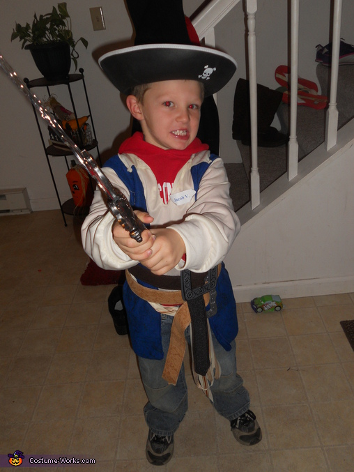 Little Pirate - Homemade costumes for boys