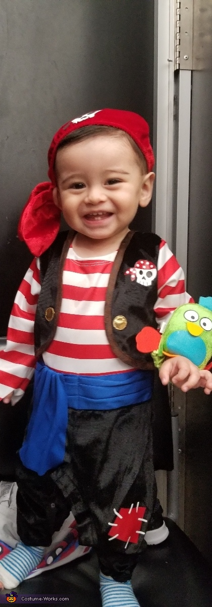 Ronan, Little Pirates Costume