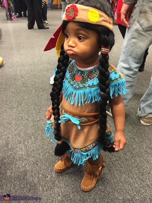 Little Pocahontas Costume